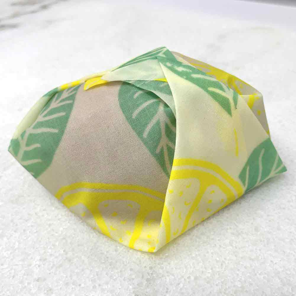beeswax wrap lemon