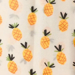 Bees Wraps Food Wrap pineapple pattern