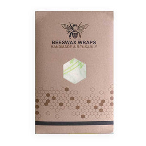 Reusable eco-friendly plastic wrap from beeswax