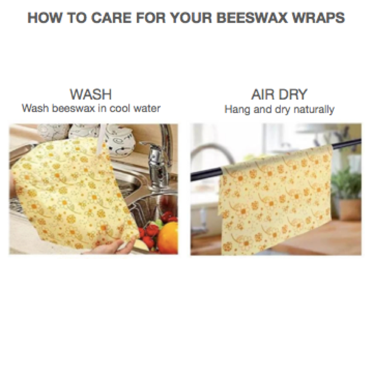 Beeswax Wraps - Flowers