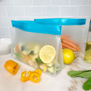 best stand up reusable food storage bags