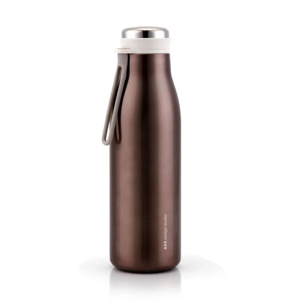 water bottle brown AKS design studio