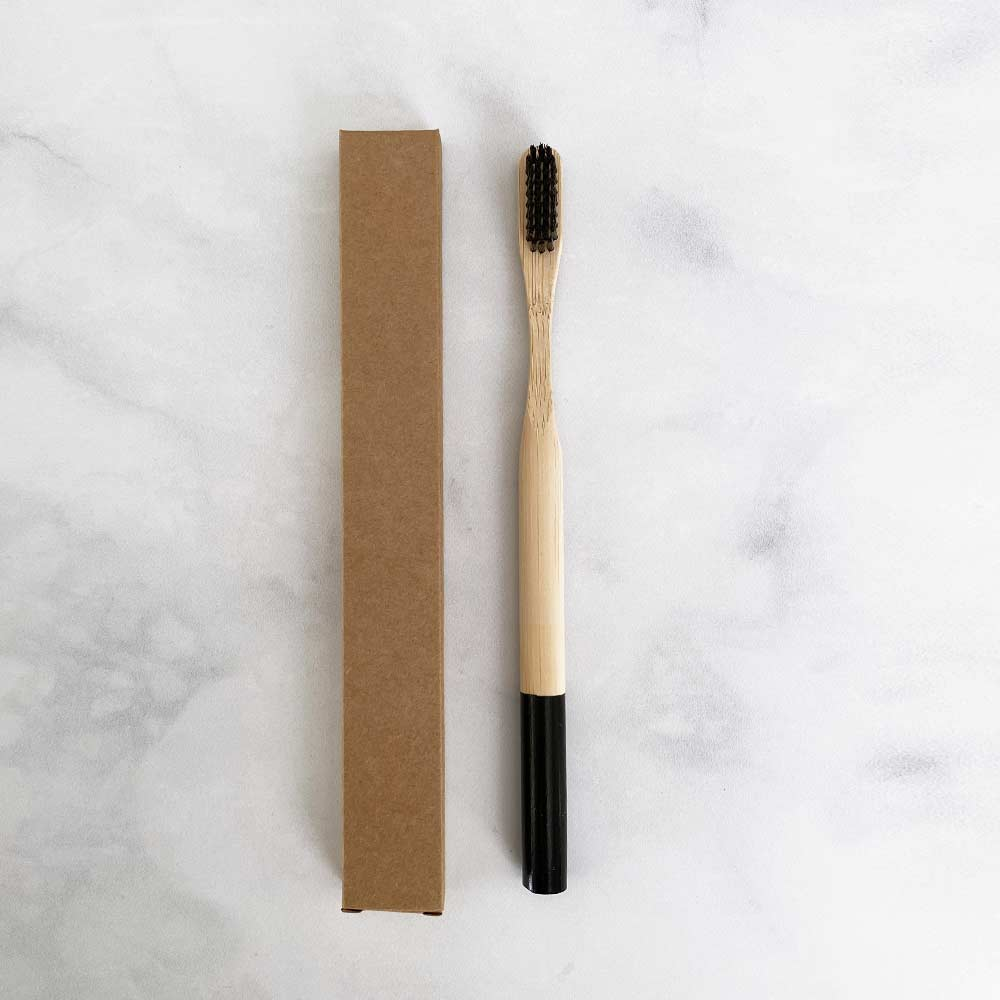 bamboo toothbrush charcoal