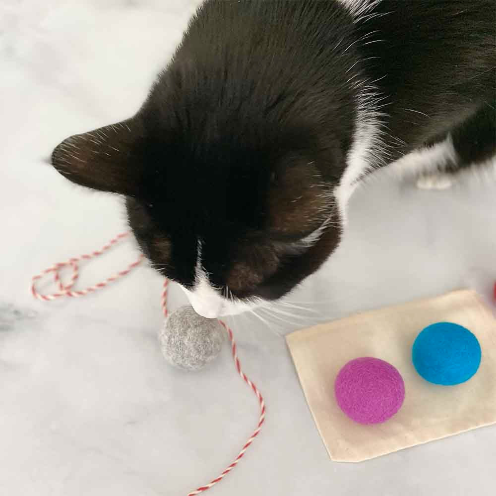 natural organic cat toy