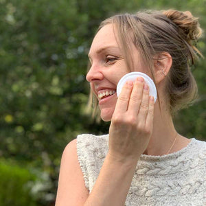 reusable cotton rounds face