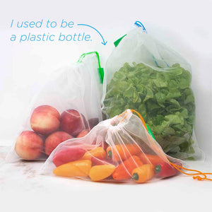 rPet mesh produce bags