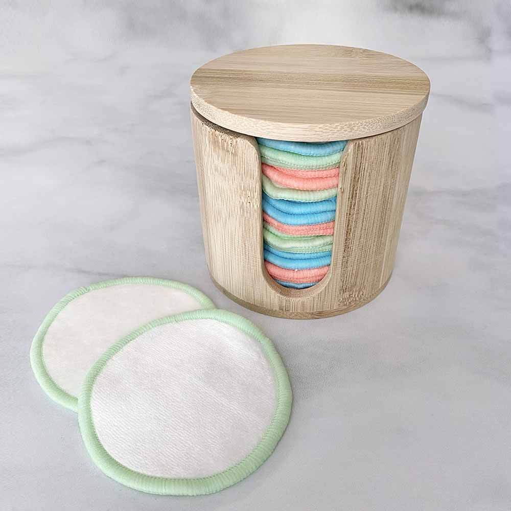 reusable cotton round holder