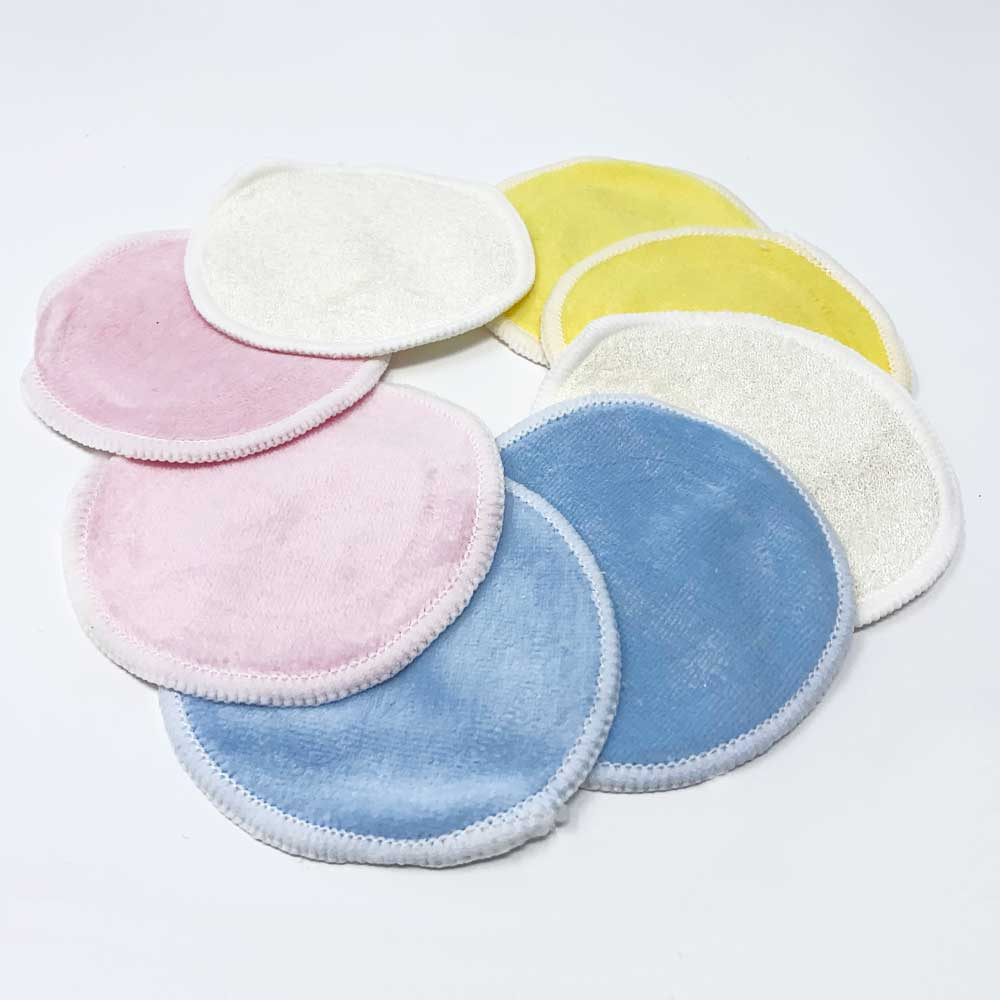 reusable cotton makeup astringent pads