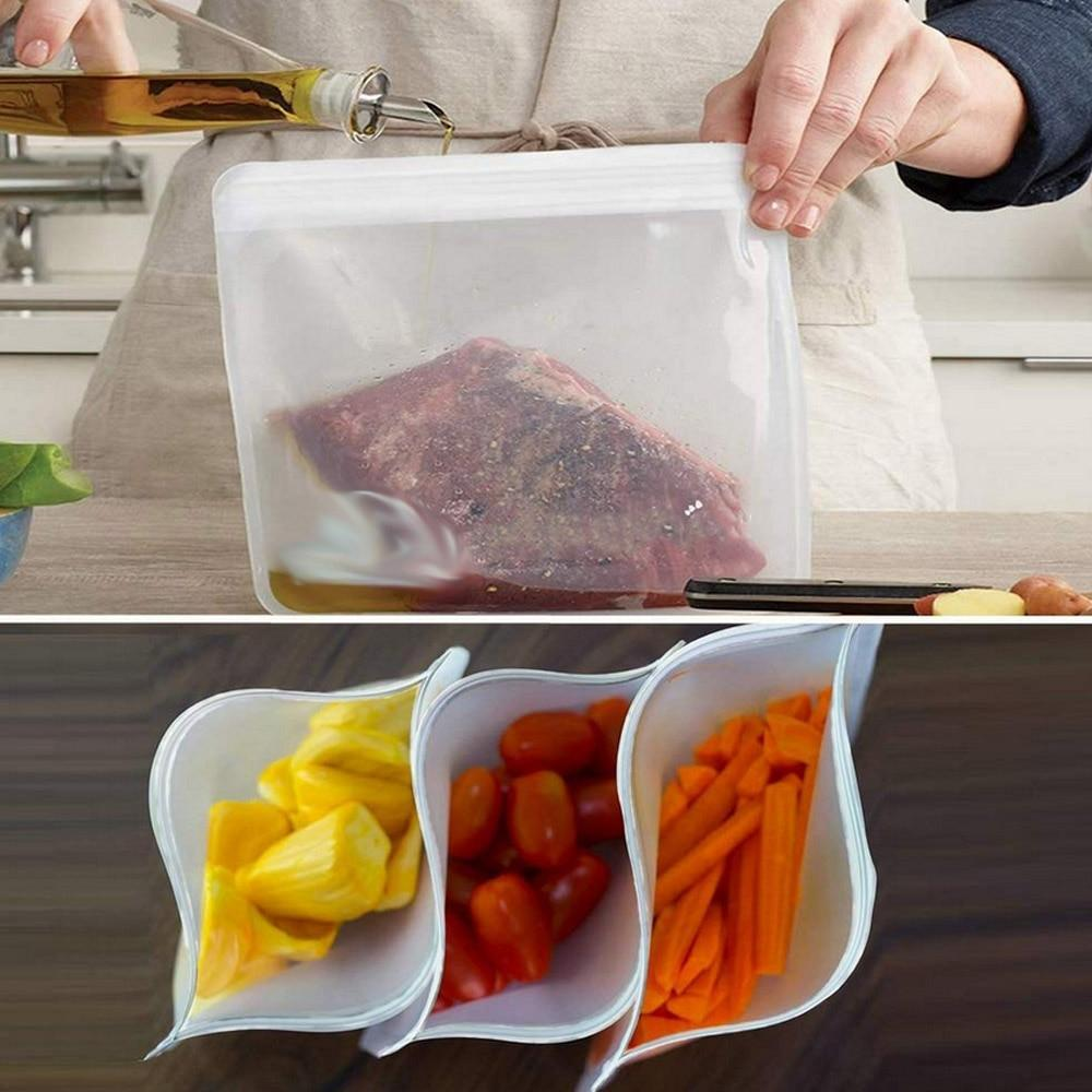 Reusable freezer bags