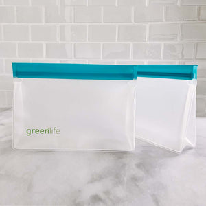Stand-up Reusable Food Storage Bags