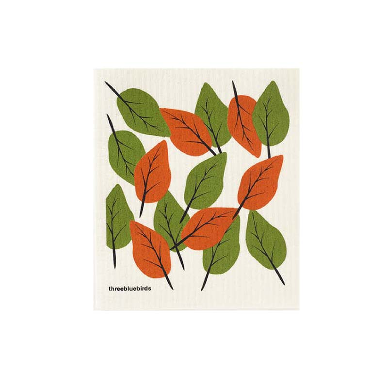 fall thanksgiving swedish dish cloth