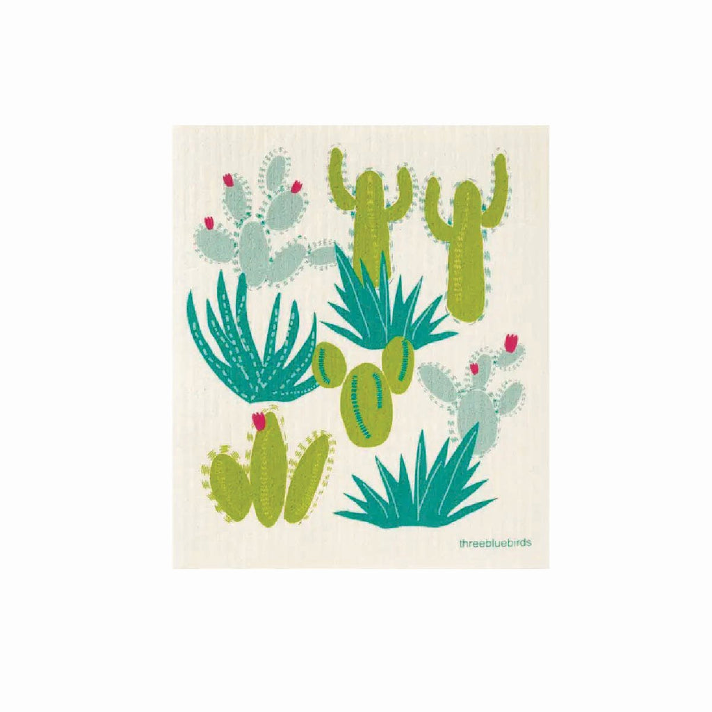 Cactus swedish dishcloth