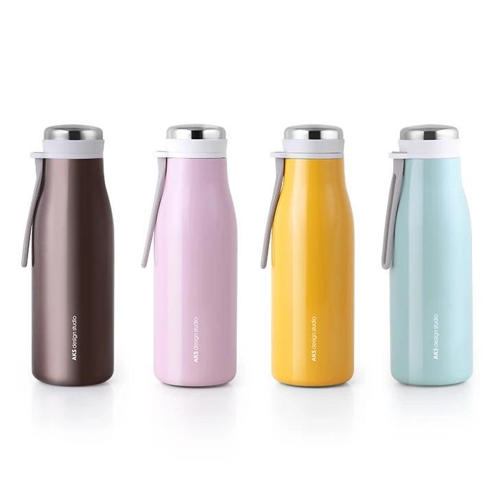 AKS design studio insulated water bottle colors