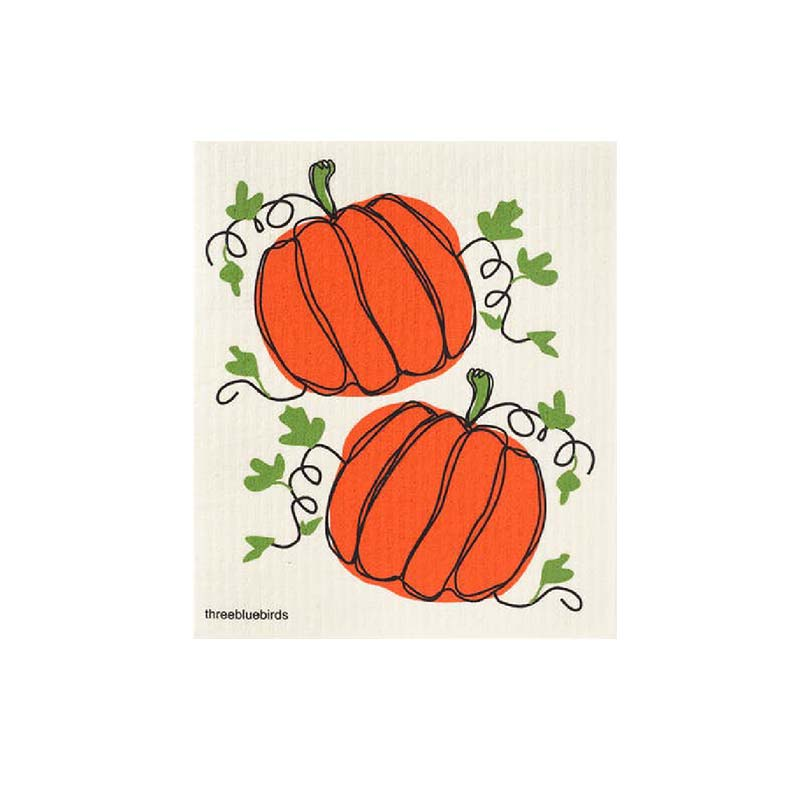 thanksgiving swedish dish cloth