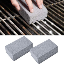 Load image into Gallery viewer, 2Pcs BBQ Tools Kitchen Gadgets Decorates BBQ Grill Cleaning Brick Block Barbecue Cleaning Stone BBQ Racks Stains Grease Cleaner
