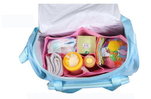 Changing Nappy With Capacity Bag