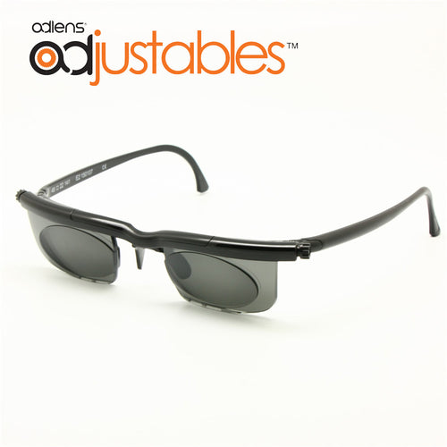 Adlens Sundials Frame Tinted Optical Sunglasses Variable Strength -6D to +3D Myopia Magnifying Anti-UVA/UVB Focus Adjustable