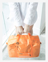 Load image into Gallery viewer, Nylon Folding Duffle Bag