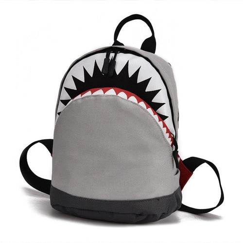 3D Model Shark School Bag