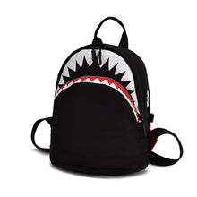 Load image into Gallery viewer, 3D Model Shark School Bag