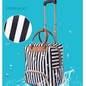 Casual Stripes Rolling Case