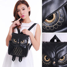 Load image into Gallery viewer, Cute Owl Fashion Backpack