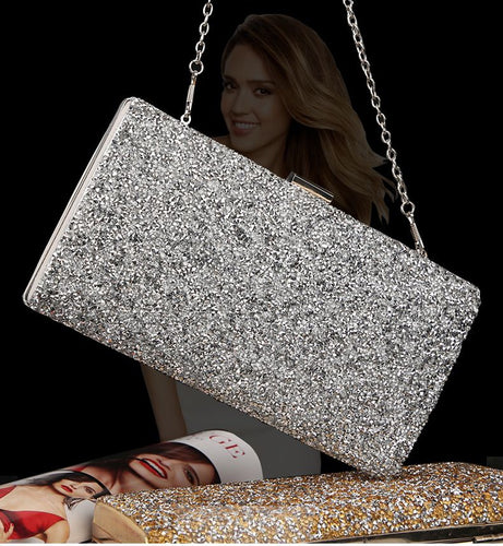 Crystal Day Clutch Wedding Purse