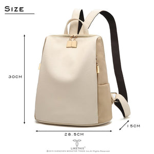 School Style Leather Bag
