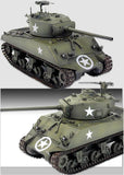 Academy 1/35 M4A3 (76)W Battle of the Bulge Kit