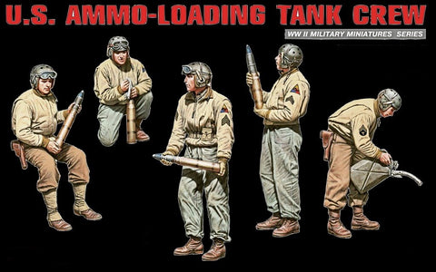 MiniArt Military Models 1/35 US Ammo-Loading Tank Crew Kit