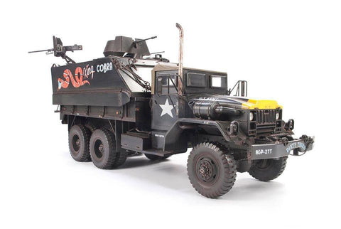 AFV Club 1/35 US Army Truck & King Cobra Tank w/M113 & M54 Guns Kit