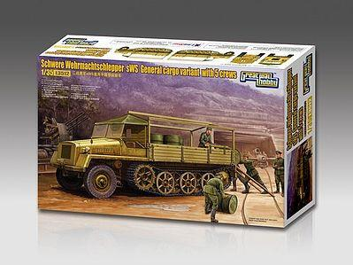 Lion Roar Military 1/35 WWII German General Heavy Cargo Halftrack (sWS) w/5 Crew Kit