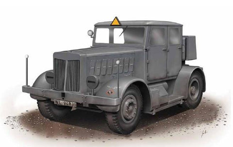 Special Hobby Military 1/72 SS100 Gigant German Heavy Tractor Kit