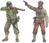 Italeri Military 1/72 WWII US Infantry (48 Figures) (Re-Issue) Set