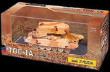 Zvezda 1/72 Russian TOS1A Heavy Flamethrower System Tank (Assembled)