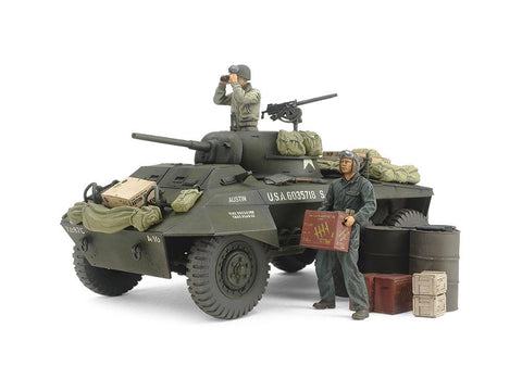 Tamiya Military Models 1/35 US M8 Greyhound Combat Patrol Kit