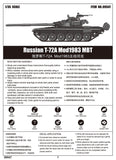 Trumpeter 1/35 Russian T72A Mod 1983 Main Battle Tank (New Variant) Kit