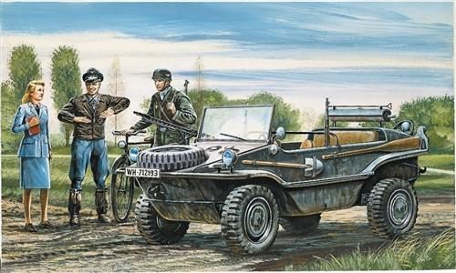 Italeri Military 1/35 Schwimmwagen Military Vehicle Kit