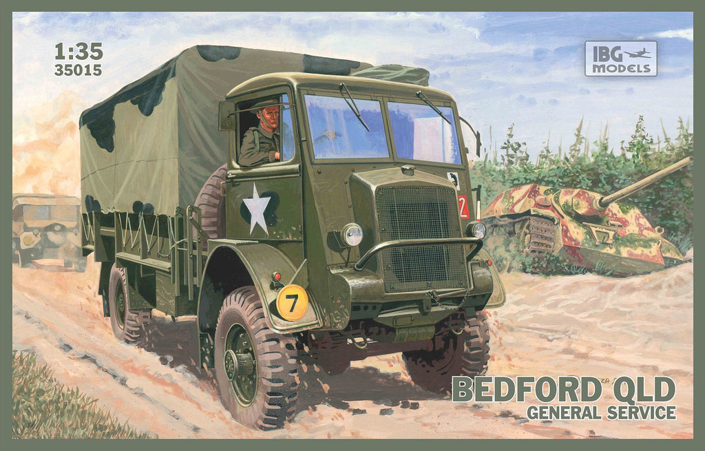IBG Military 1/35 Bedford QLT Troop Carrier Truck Kit