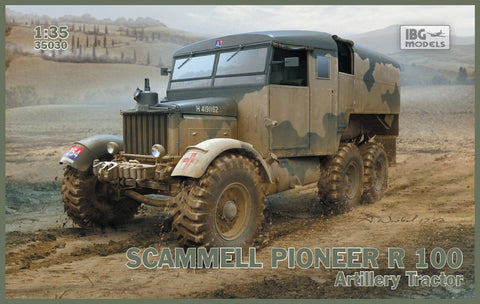 IBG Military Models 1/35 Scammell Pioneer R100 Artillery Tractor Kit