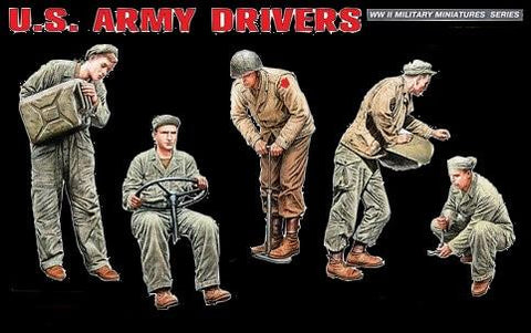 MiniArt Military Models 1/35 WWII US Army Drivers Kit
