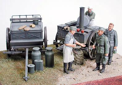 Tamiya 1/35 German Field Kitchen Scenery Kit