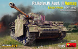MiniArt Military 1/35 PzKpfw IV Ausf H Vomag Tank w/Full Interior Early Production May 1943 Kit