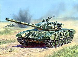 Zvezda 1/35 Russian T72B Main Battle Tank w/ERA Kit