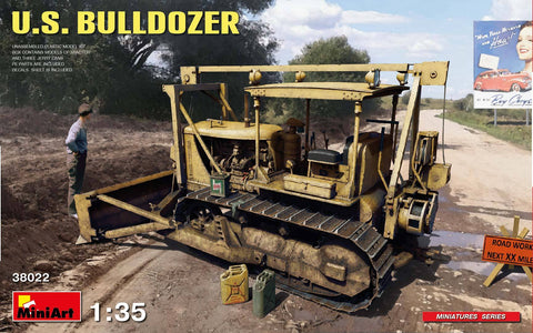 MiniArt Military 1/35 US Bulldozer Kit