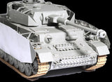 Dragon Military 1/35 PzKpfw IV Ausf H Late Production Tank w/Zimmerit Kit