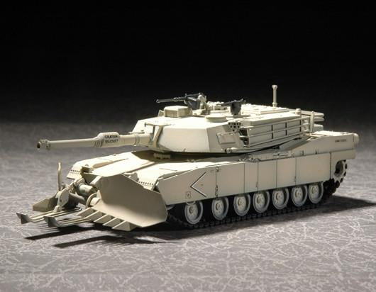 Trumpeter Military Models 1/72 US M1A1 Abrams Mine Clearing Tank Kit