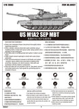 Trumpeter 1/16 US M1A2 SEP Main Battle Tank (New Variant) Kit