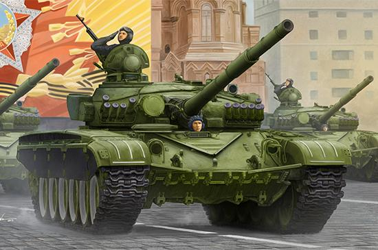 Trumpeter Military 1/35 Russian T72A Mod 1983 Main Battle Tank (New Variant) Kit