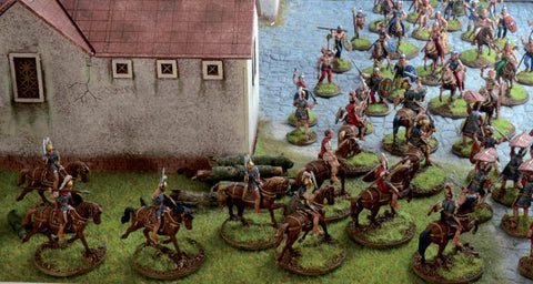 Italeri Military 1/72 Pax Romama Struggle at the Roman Villa Battle Diorama  Kit